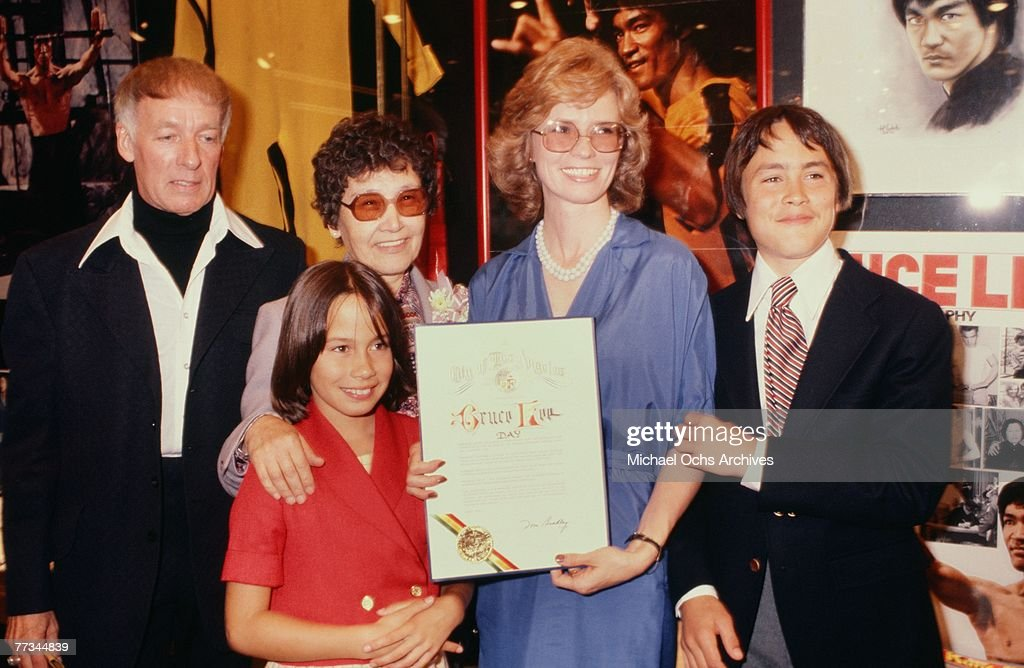 Photo Of Brandon Lee and Family : News Photo