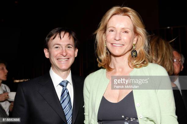 Bruce Levingston and Dailey Pattee attend Bruce Levingston on Top of The Standard A Premiere Commission Gala at Boom Boom Room on April 28 2010 in...