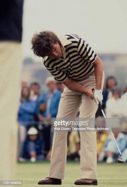 Bruce Lietzke competing in the 1977 PGA Tournament of Champions ABC Sports coverage