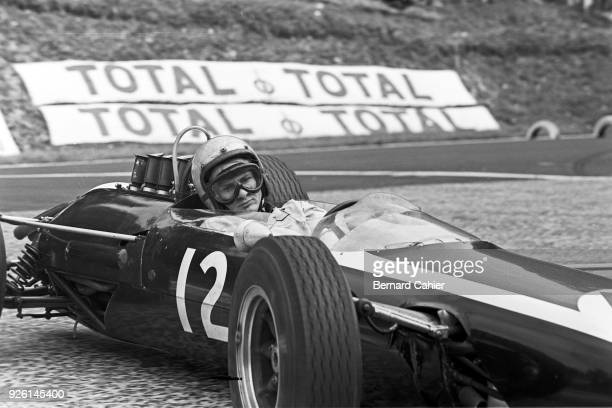 Bruce McLaren CooperClimax T73 Grand Prix of France RouenLesEssarts 28 June 1964