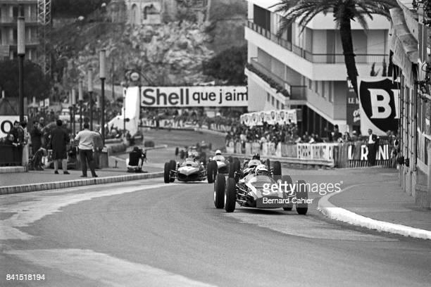 Bruce McLaren Graham Hill Wolfgang von Trips CooperClimax T60 BRM P57 Ferrari 156 Grand Prix of Monaco Monaco 03 June 1962