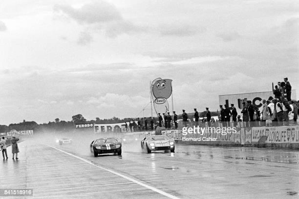 Bruce McLaren, Ken Miles, 24 Hours of Le Mans, Le Mans, 19 June 1966.
