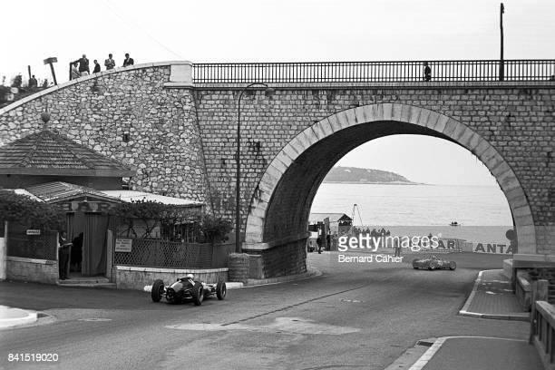 Bruce McLaren Willy Mairesse CooperClimax T60 Ferrari 156 Grand Prix of Monaco Monaco 03 June 1962