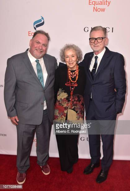Bruce Miller Margaret Atwood and Warren Littlefield attend Equality Now's Annual Make Equality Reality Gala at The Beverly Hilton Hotel on December...