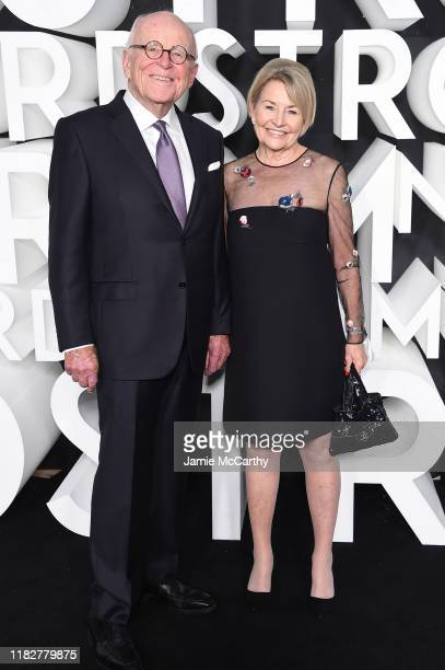 Bruce Nordstrom and Jeannie Nordstrom attend the Nordstrom NYC Flagship Opening Party on October 22, 2019 in New York City.