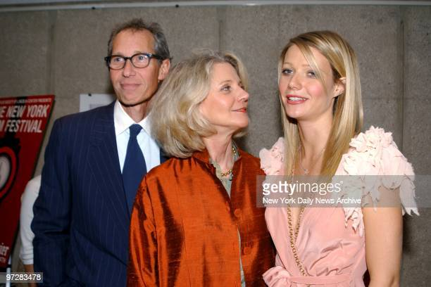 Bruce Paltrow and Blythe Danner are on hand with their daughter Gwyneth Paltrow for a screening of The Royal Tenenbaums at the New York Film Festival...