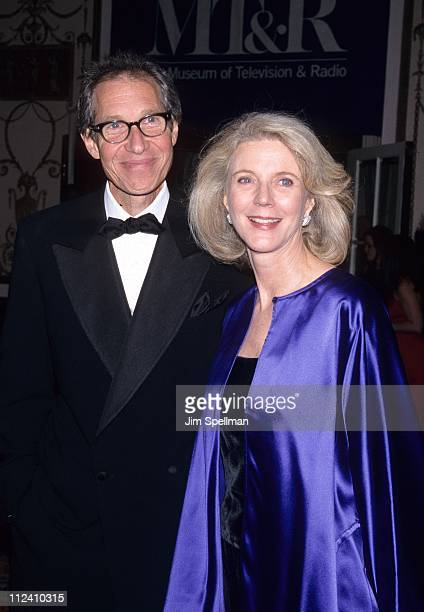 Bruce Paltrow and Blythe Danner during Hallmark Hall of Fame at WaldorfAstoria in New York City New York United States
