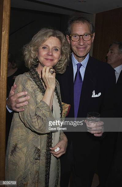 Bruce Paltrow with wife actress Blythe Danner at the opening night party for the play 'Proof' starring their daughter Gwyneth Paltrow held at No 1...