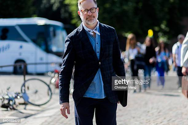 Bruce Pask during Pitti Uomo 90 on June 15 in Florence, Italy