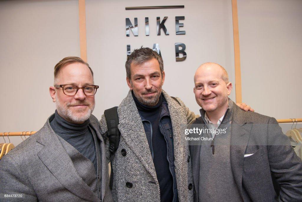 Bergdorf Goodman Celebrates the New NikeLab Opening in Goodman's Men's Store : News Photo