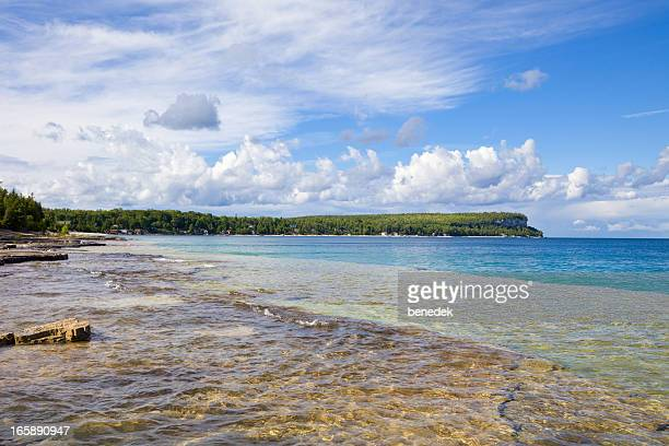 bruce peninsula, ontario, canada - north stock pictures, royalty-free photos & images