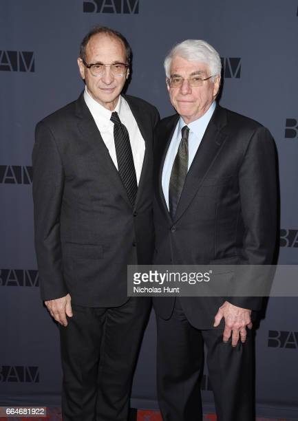 Bruce Ratner Alan Fishman attend the BAM Presents The Alan Gala at on April 4 2017 in the Brooklyn borough of New York City