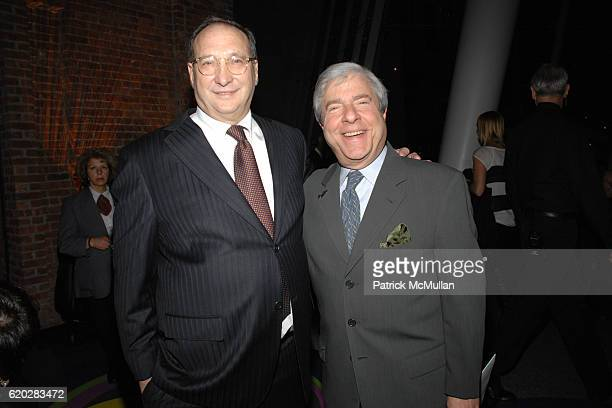 Bruce Ratner and Marty Markowitz attend THE BROOKLYN MUSEUM LOUIS VUITTON honor Artist TAKASHI MURAKAMI at The 2008 Brooklyn Ball Celebrating ©...