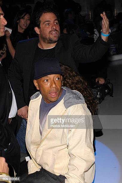 Bruce Ratner and Russell Simmons attend The 6th Annual GM TEN Event Fashion Show at Paramount Studios on February 20 2007 in Los Angeles CA