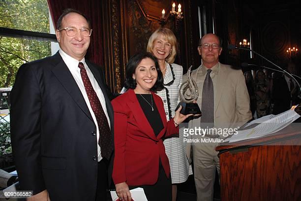 Bruce Ratner Ellen Ratner Dr Tara Cortes and Michael Ratner attend Lighthouse International hosts The Henry A Grunwald Award for Public Service...