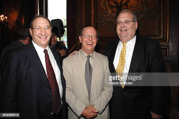 Bruce Ratner Michael Ratner and Roger Goldman attend Lighthouse International hosts The Henry A Grunwald Award for Public Service honoring Pete...