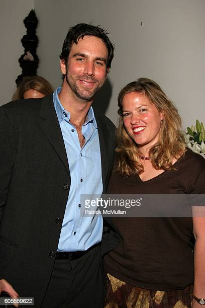 Bruce Richman and Abby Weisman attend Michelle Clark and Andrew Miller Bash In Aid of FXB at East 62nd Street on May 18 2006 in New York City