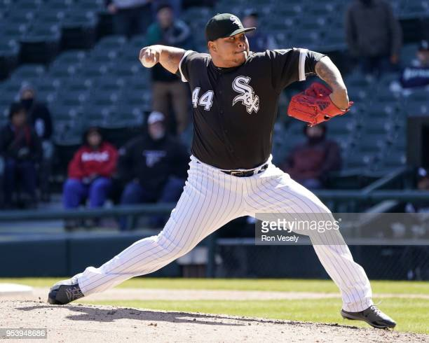 Bruce Rodon of the Chicago White Sox pitches against the Seattle Mariners on April 25 2018 at Guaranteed Rate Field in Chicago Illinois Bruce Rodon
