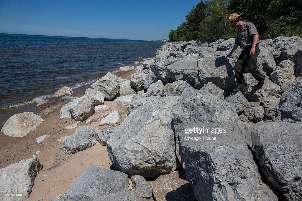 Lake Michigan : News Photo