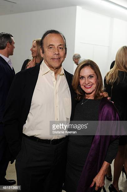 Bruce Schindler and Judy Schindler attend The Rema Hort Mann Foundation LA Artist Initiative Benefit Auction on November 21, 2013 in Los Angeles,...