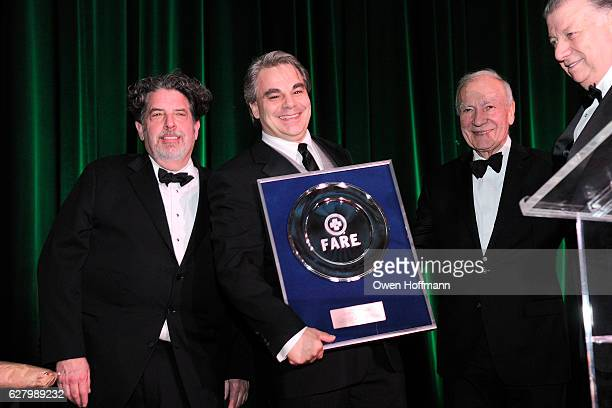 Bruce Soffer Gabriel Kreuther Alain Sailhac and Nick Valenti attend The 19th Annual Food Allergy Ball Benefiting Food Allergy Research Education at...