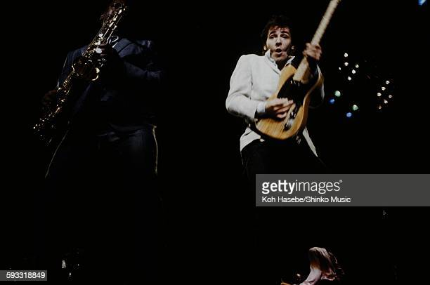Bruce Springsteen and Clarence Clemons live at Los Angeles Sports Arena CA October 30 1980