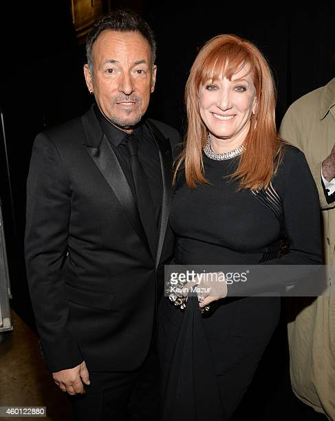 Bruce Springsteen and Patti Scialfa attend the 37th Annual Kennedy Center Honors at The John F Kennedy Center for Performing Arts on December 7 2014...
