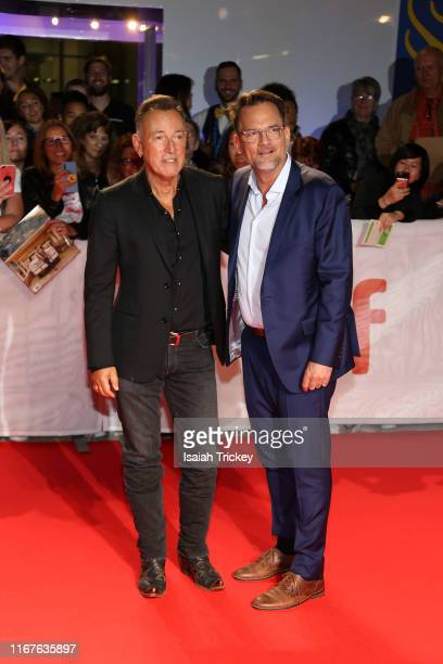 Bruce Springsteen and Thom Zimny attend the Western Stars premiere during the 2019 Toronto International Film Festival at Roy Thomson Hall on...