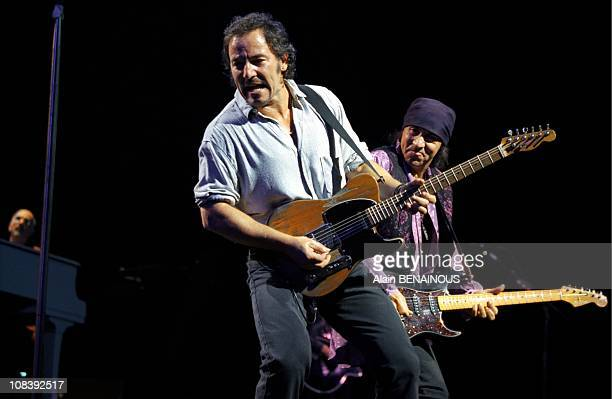 Bruce Springsteen at Bercy in Paris France on June 02 1999