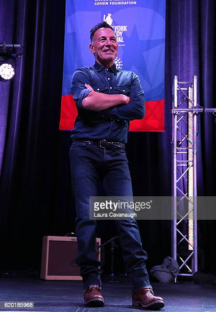 Bruce Springsteen attends 10th Annual Stand Up For Heroes Show at The Theater at Madison Square Garden on November 1 2016 in New York City