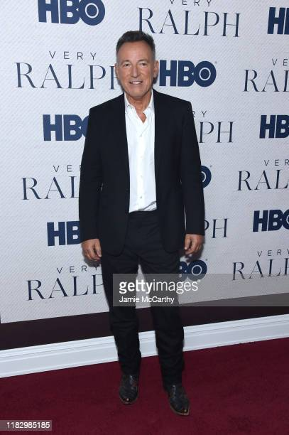 """Bruce Springsteen attends HBO's """"Very Ralph"""" World Premiere at The Metropolitan Museum of Art on October 23, 2019 in New York City."""