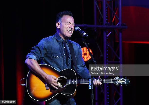 Bruce Springsteen attends the 10th Annual Stand Up For Heroes Show at The Theater at Madison Square Garden on November 1 2016 in New York City