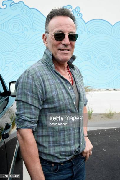 Bruce Springsteen attends the Grand ReOpening of Asbury Lanes at Asbury Lanes on June 18 2018 in Asbury Park New Jersey