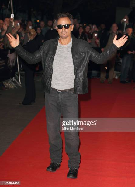 Bruce Springsteen attends the screening of 'The Promise The Making Of Darkness On The Edge Of Town' at BFI Southbank on October 29 2010 in London...