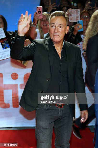 Bruce Springsteen attends the Western Stars premiere during the 2019 Toronto International Film Festival at Roy Thomson Hall on September 12 2019 in...