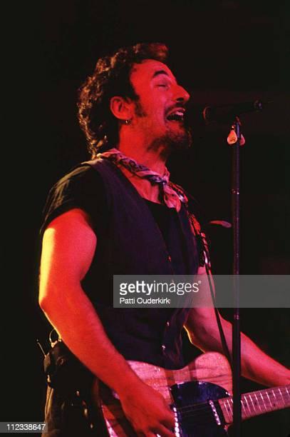Bruce Springsteen during Bruce Springsteen in Concert at Brendan Byrne Arena 1993 at Brendan Byrne Arena in East Rutherford New Jersey United States