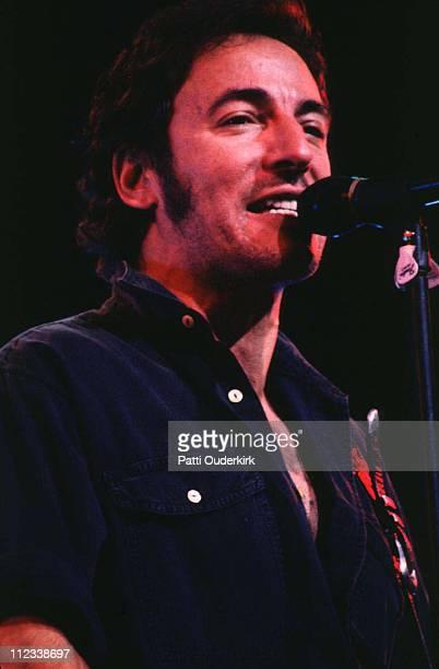 Bruce Springsteen during Bruce Springsteen in Concert at Nassau Coliseum - 1992 at Nassau Veterans Memorial Coliseum in Uniondale, New York, United...