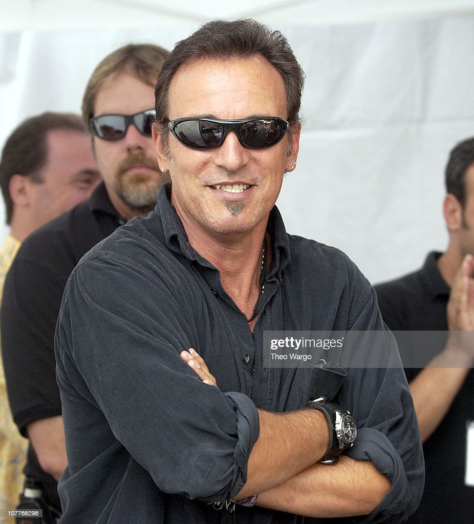 Bruce Springsteen during Little Steven's Underground Garage Festival Presented by Dunkin' Donuts - Show - August 14, 2004 at Randall's Island in New York City, New York, United States.