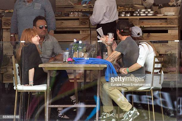 Bruce Springsteen his wife Patti Scialfa his daughter Jessica Springsteen and her boyfriend Nic Roldan attend Global Champions Tour Horse Tournament...