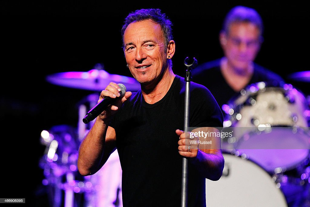 Bruce Springsteen Media Call : News Photo
