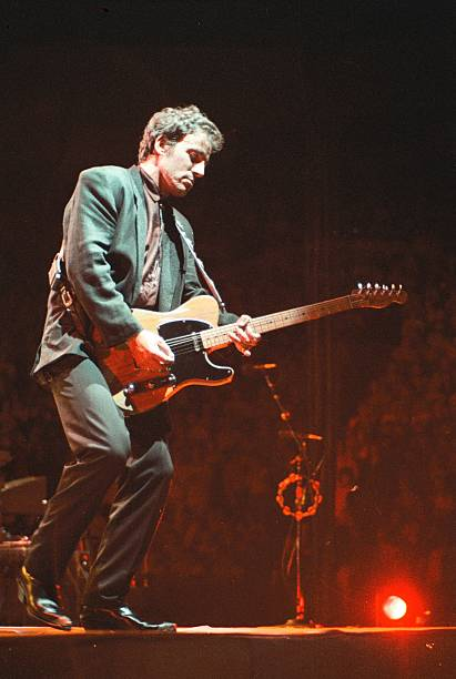 Bruce Springsteen Performs In Minnesota