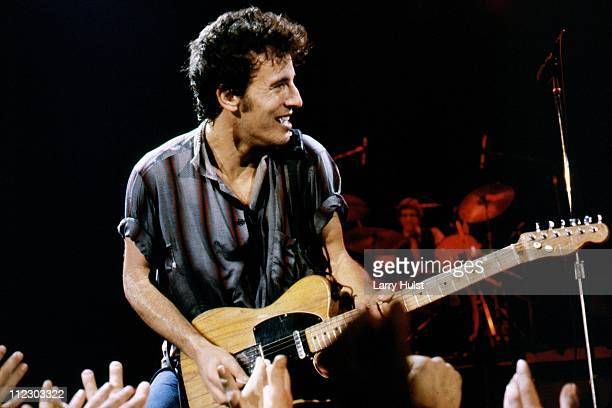 Bruce Springsteen performs at Winterland arena in San Francisco California on December 16 1978