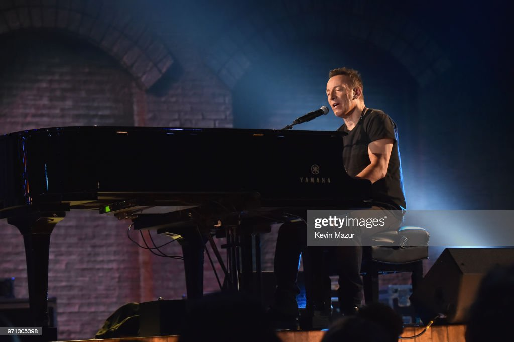 Bruce Springsteen performs onstage during the 72nd Annual Tony Awards at Radio City Music Hall on June 10, 2018 in New York City.