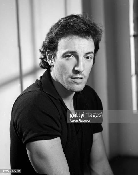 Bruce Springsteen poses for a portrait in New York, N.Y., 1980.