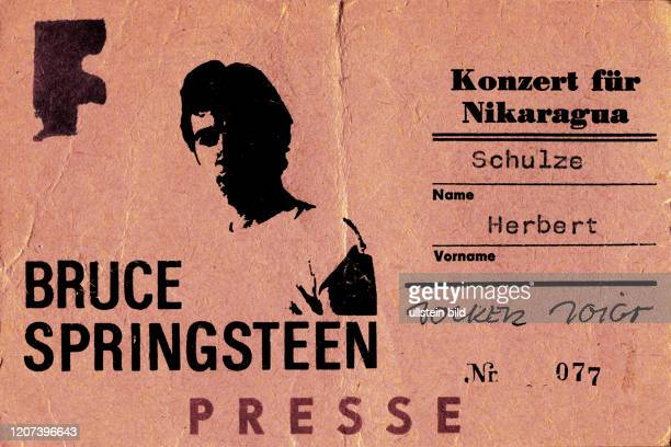 Bruce Springsteen, Radstadion Weissensee, Ostberlin