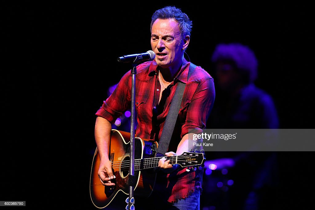 Bruce Springsteen And The E Street Band Summer '17 Tour - Sound Check : News Photo