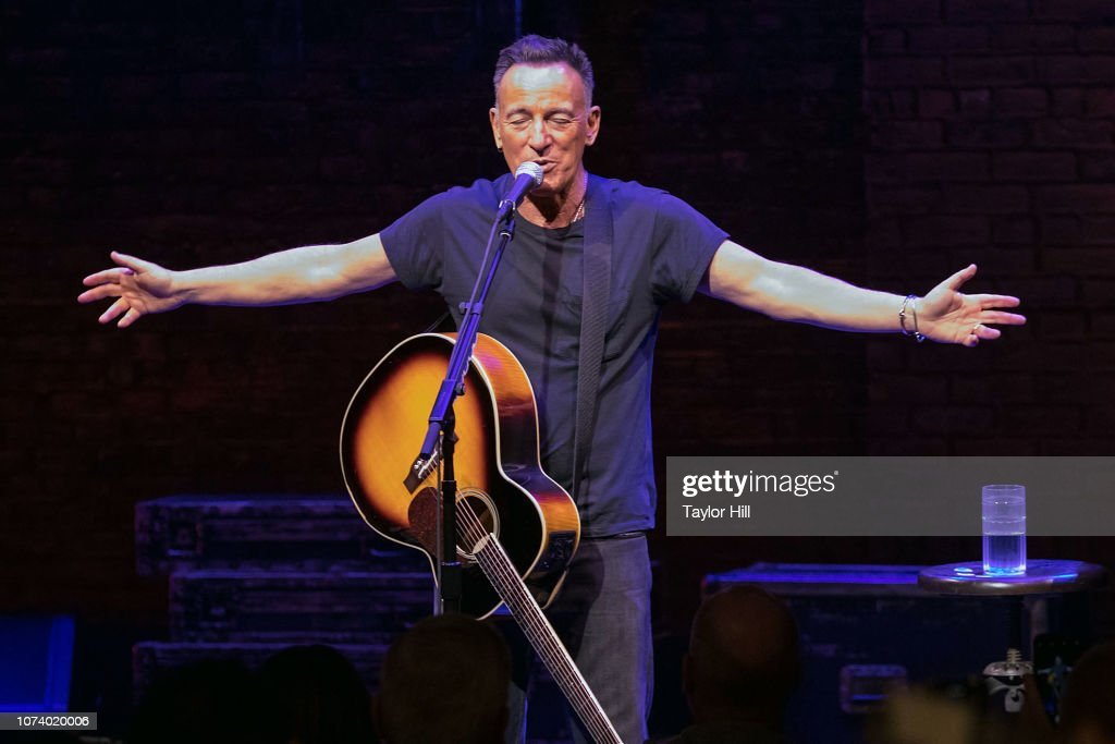 Springsteen On Broadway Final Performance : News Photo