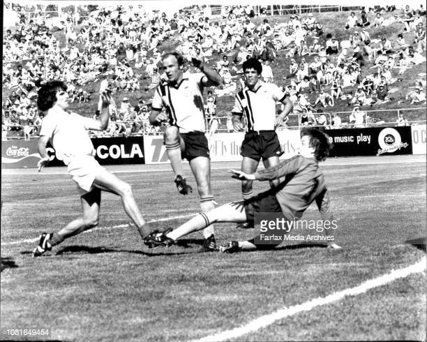 Bruce Stadium Canberra Grand Final Philips Soccer Sydney City Vs Heidelberg October 26 1980