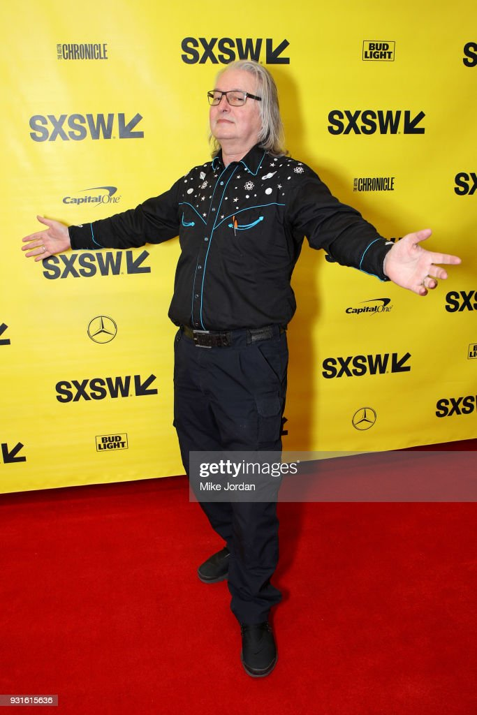 Bruce Sterling attends Disrupting Dystopia: The Bruce Sterling Talk during SXSW at Austin Convention Center on March 13, 2018 in Austin, Texas.