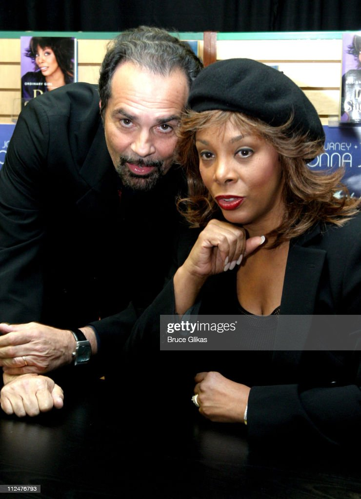 Bruce Sudano and Donna Summer during Donna Summer Signs Copies of Her New Book 'Ordinary Girl' and New CD 'The Journey' at Barnes and Noble in New York City, New York, United States.